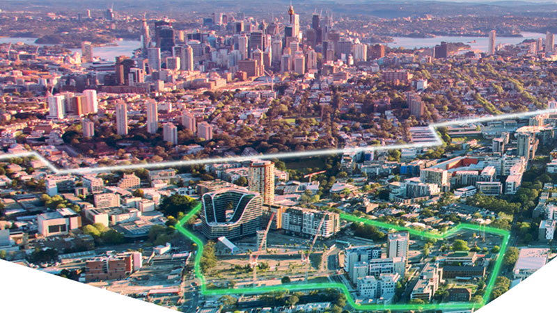 ▲ Green Square spans a 278 hectare area close to Sydney CBD.
