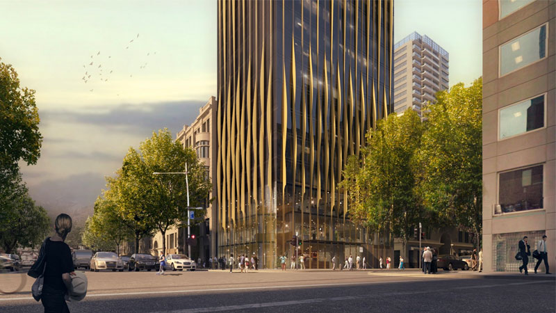 ▲ BPM purchased the Flinders Street site for $12.35 million from Malaysian developer Asia One in 2016 and quickly set about plans for a hotel development.Image: Elenberg Fraser
