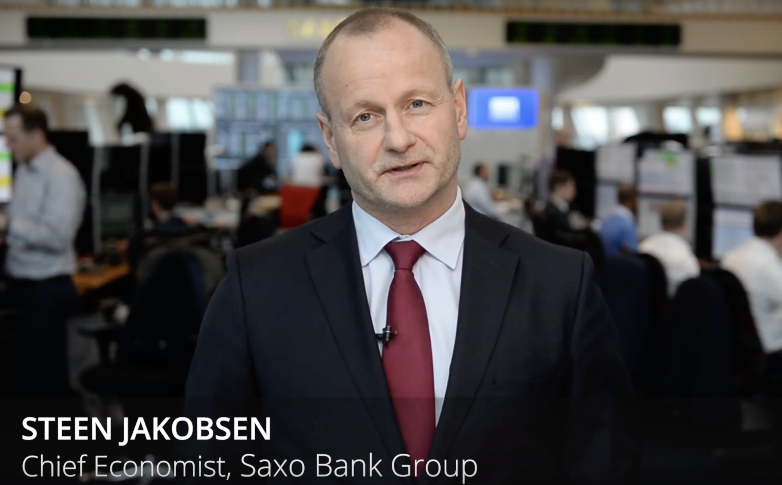 Saxo Bank chief economist Steen Jakobsen says says that a tighter lending landscape combined with an uncertain global environment could close the curtains on Australia's property binge.