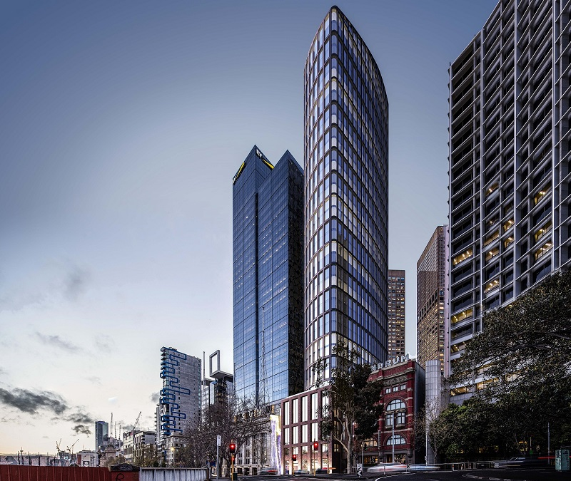 ▲ GTP Group's development of two premium grade office towers at 51 Flinders Lane will also add another laneway to Melbourne's east-end.