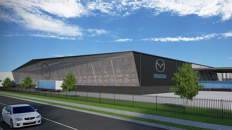 ▲ Frasers Property secures Mazda as anchor tenant at 4Ten Epping,  Melbourne's north.