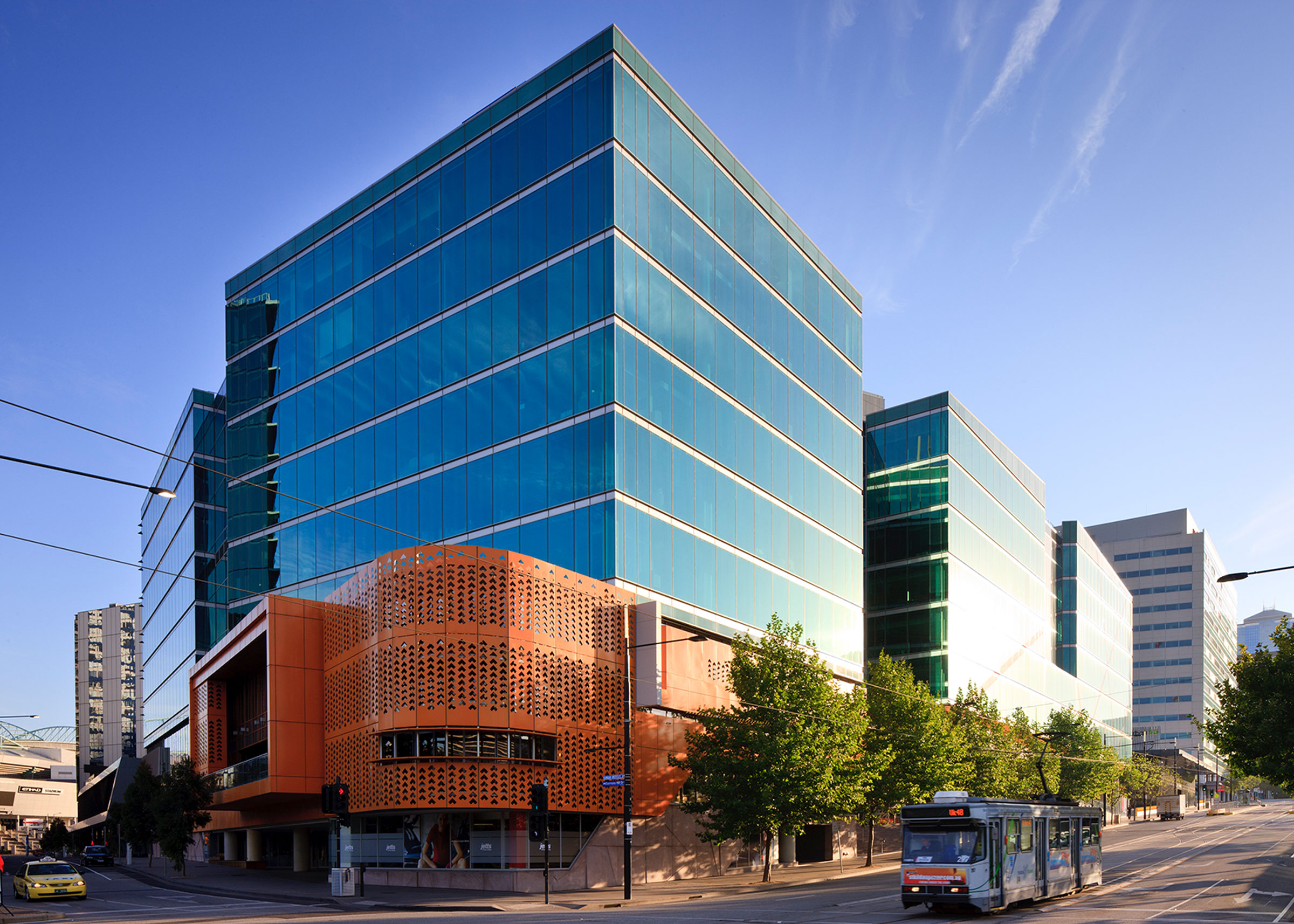750 Collins Street, Docklands leased on behalf of The GPT Group