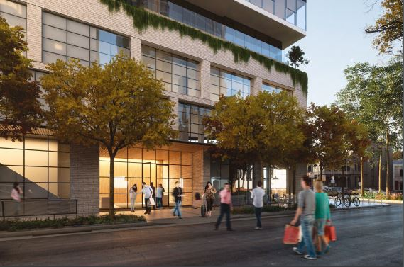 The tower will replace Melbourne's last CBD petrol station.