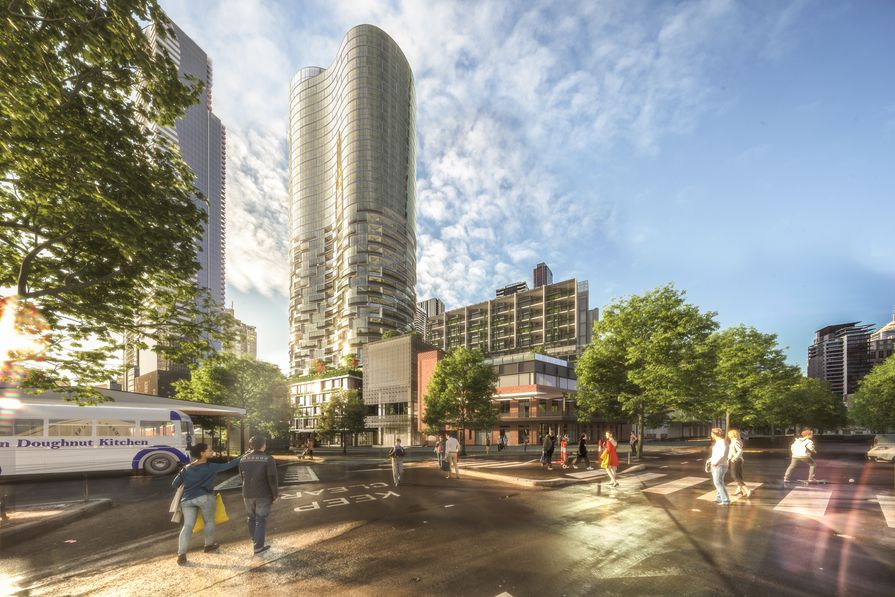 ▲ Plans for the Munro development in Melbourne.