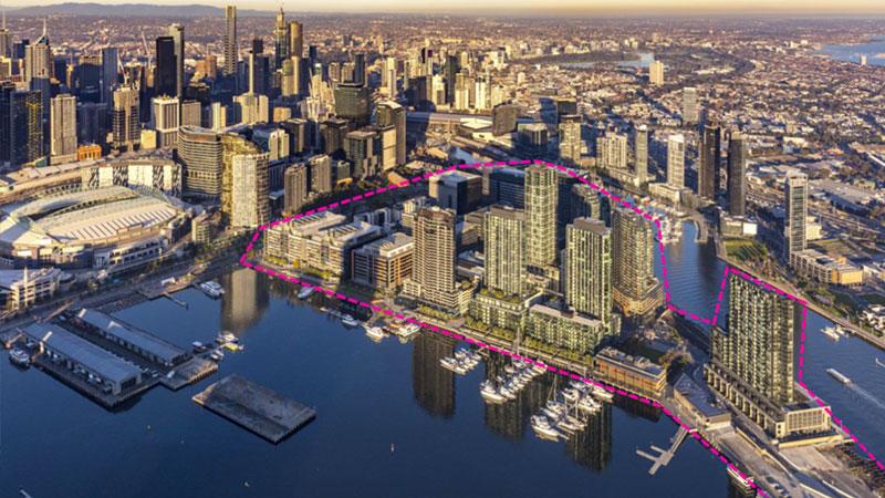 Lendlease Development Pipeline Masterplan for Victoria Harbour Melbourne