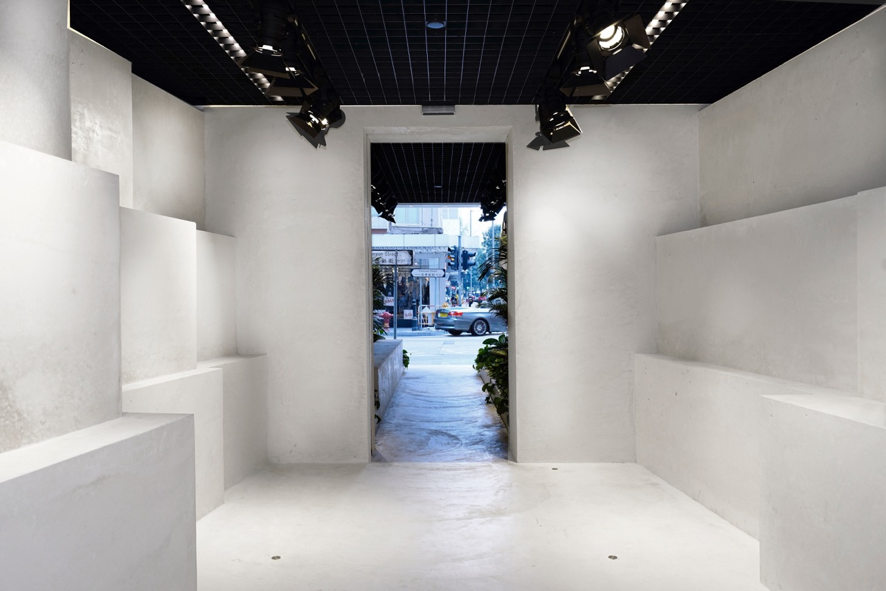 """The Quarry-like interior functions as a gallery, retail or performance space, pending on the nature of Mr. Abloh's collection and performances."" - Family New York"