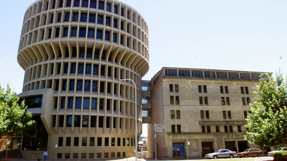 The brutalist CAC building is an icon of Newcastle's CBD skyline since it was opened in June 1977.