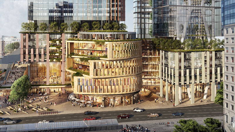 Dexus, Frasers Name Architect for $2.5bn Central Place