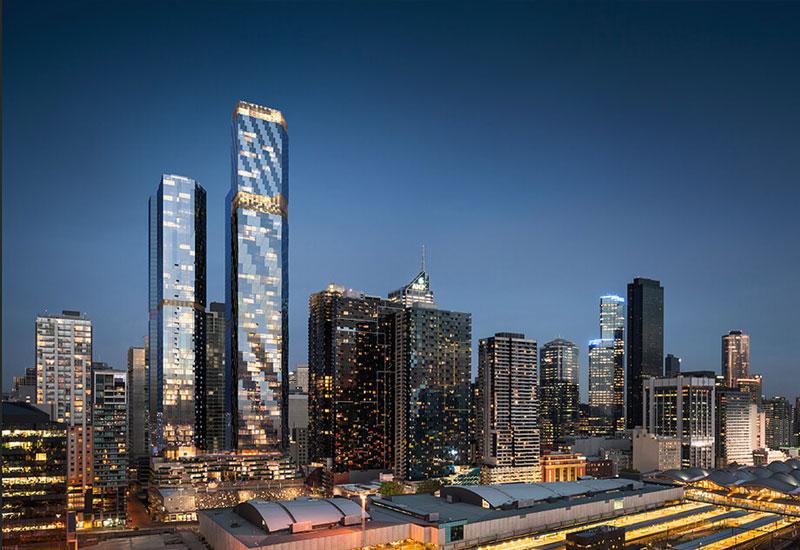 West Side Place Far East Consortium Melbourne Development Project