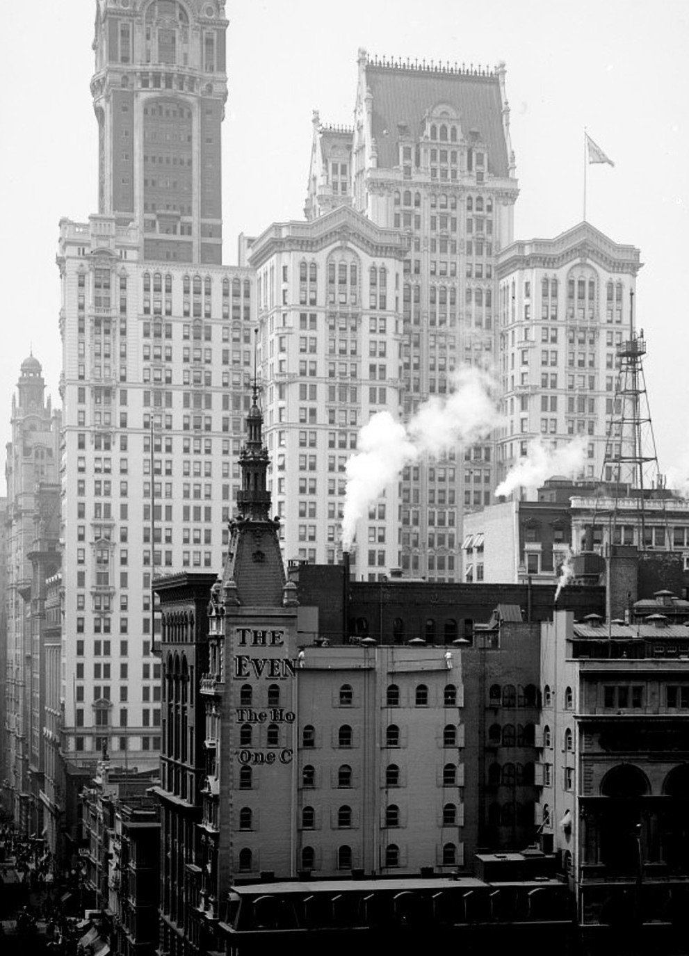 The 33-storey City Investing Building was completed in 1908.