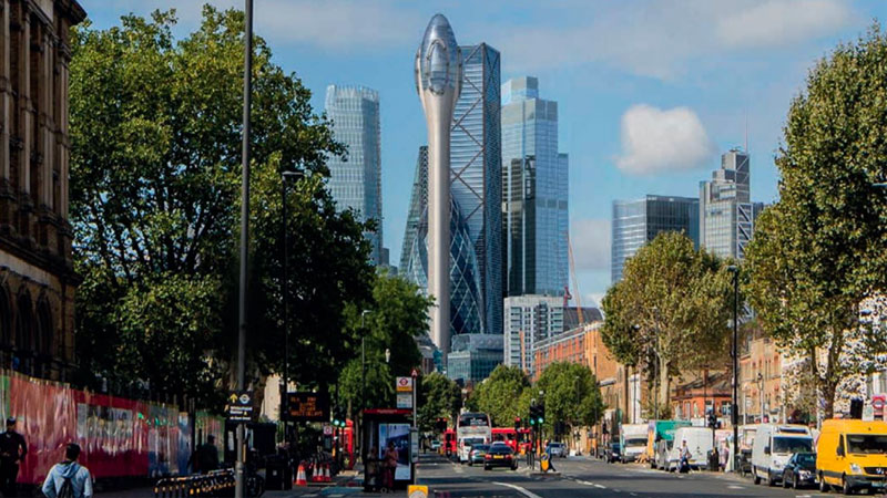 ▲ Plans for the tower, which were lodged late last year, were submitted by the Safra Group, the company controlled by Brazilian billionaire banker Joseph Safra, which bought the Gherkin in 2014 for £726 million (AUD$1.2 billion).