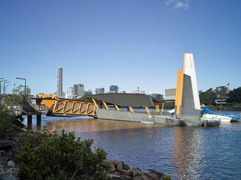 Brisbane Ferry Wharf has been innovatively redeveloped to withstand the severity of floods. Photo: Cox Architecture