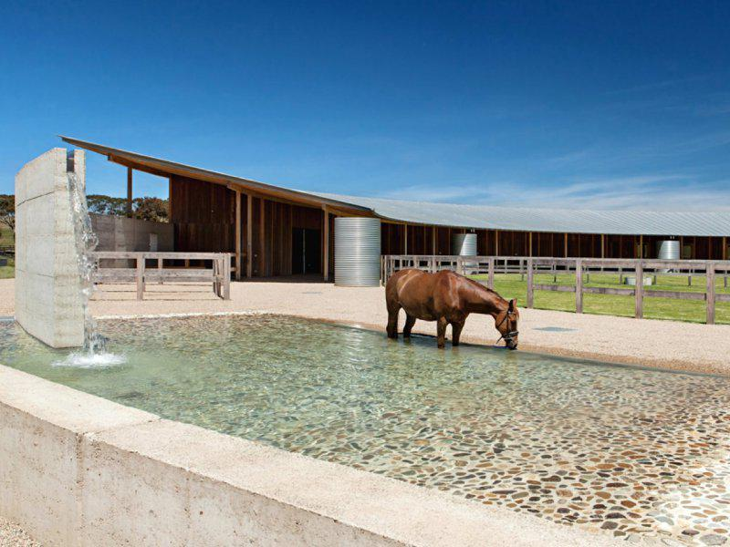 Merricks Equestrian Centre looks like absolute luxury. Photo: Watson Architecture + Design