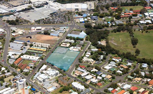 Aura retirement village site, Maroochydore