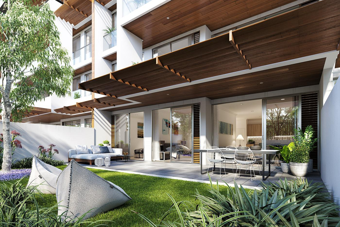 Affinity Caringbah garden apartment