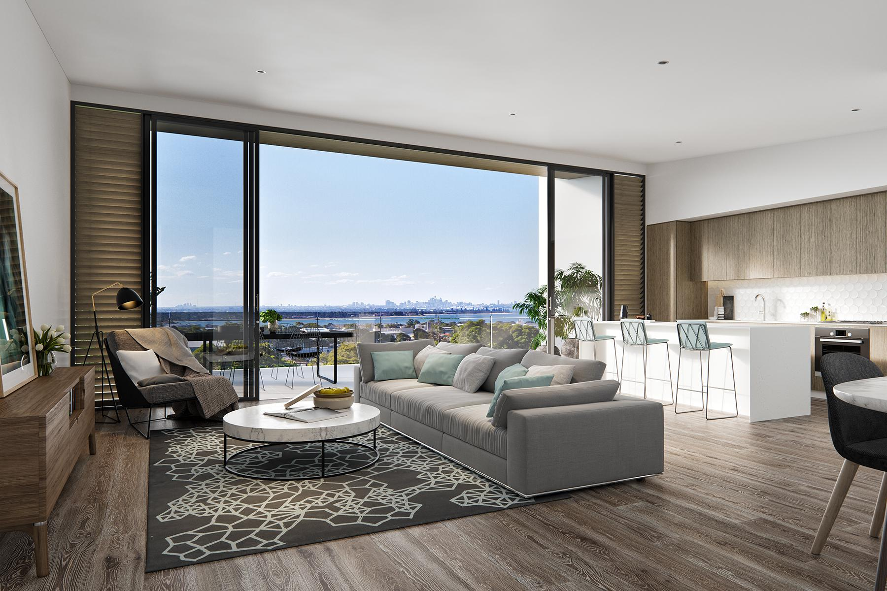 Affinity Caringbah - living area