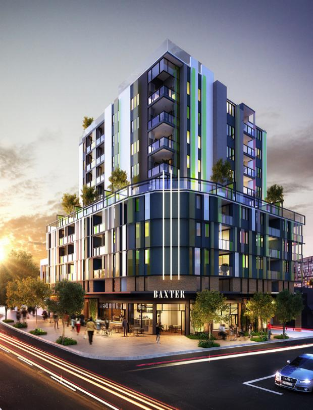 Baxter Street Apartments, Fortitude Valley, Forrester Properties