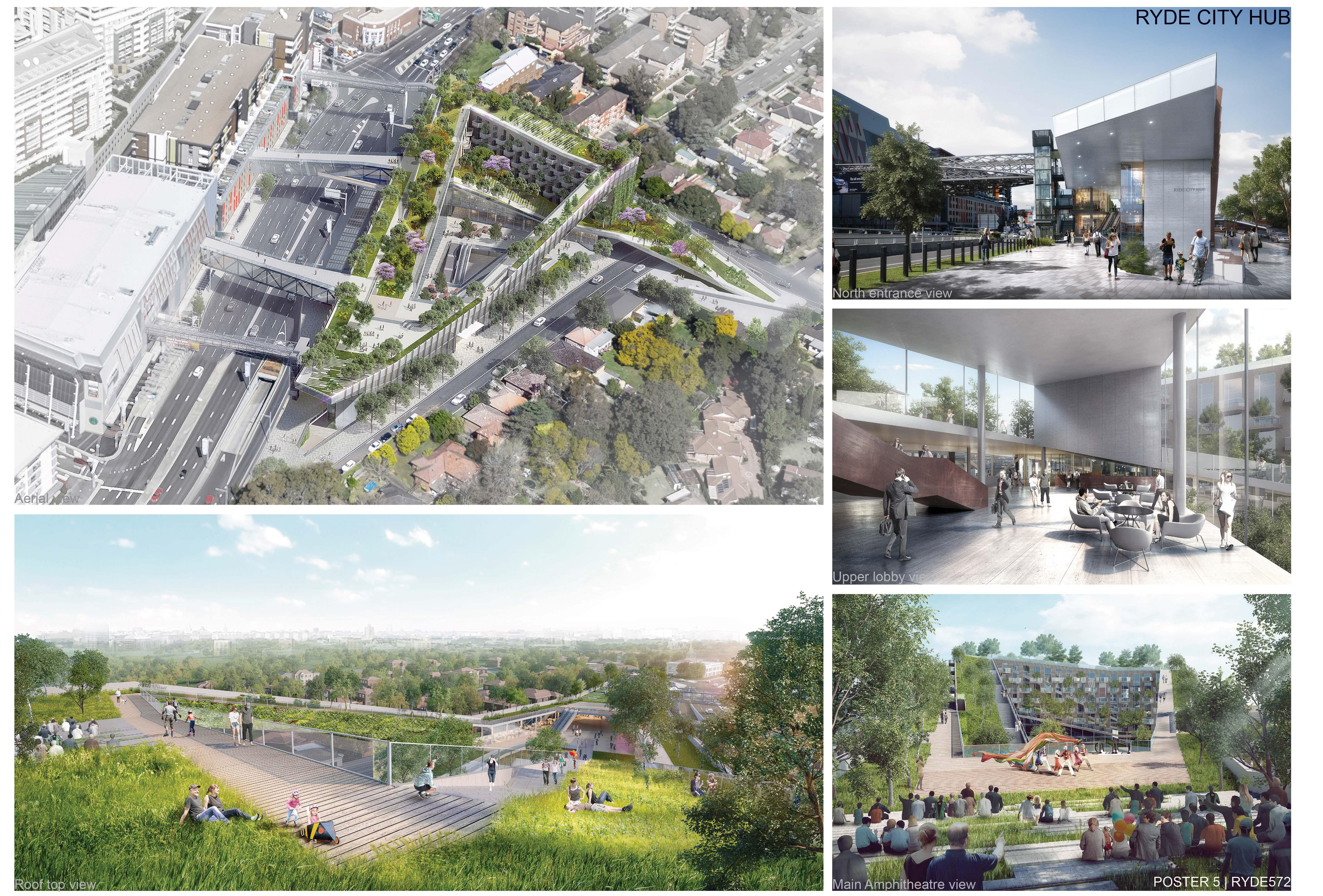 Design Our Ryde winner Entry 572 Beijing Institute ofArchitectural Design China views