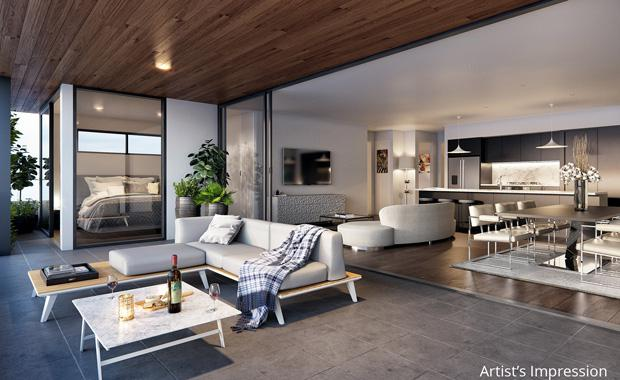 Ferry-Rd.-Living-Room-and-Balcony