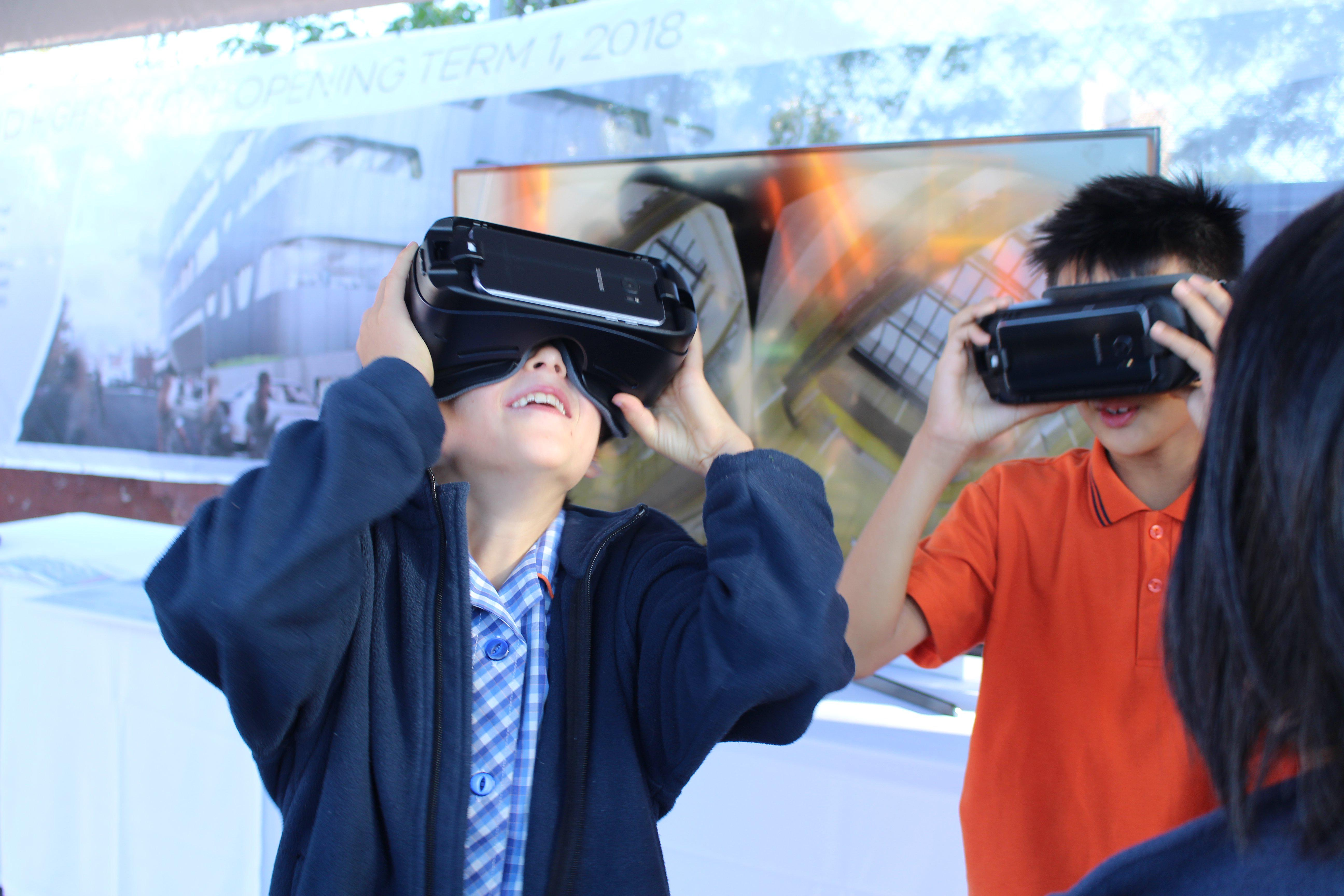 Is VR still kid's stuff, or is it about to go prime-time for property? Image: Scharp