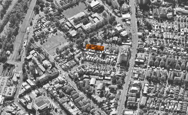 Aerial view of Ploy Australia's Kogarah site acquisition