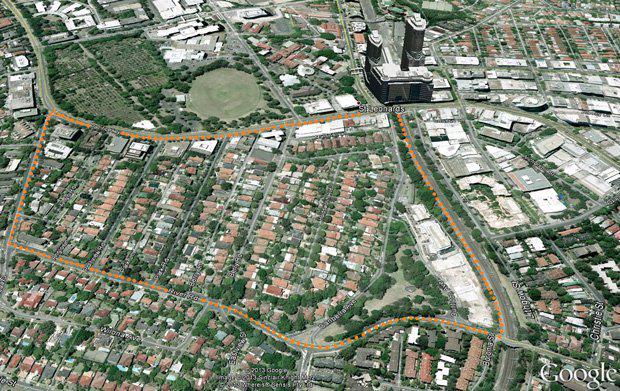 Aerial image sourced from stleonardssouth.com.au