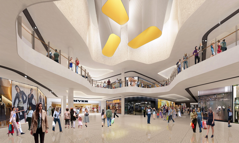 Preliminary_Artist Impression_internal mall_Sunshine Plaza_indicative on...