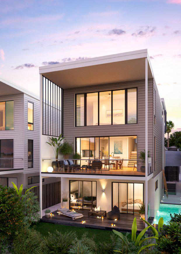Construction commences on mooloolaba 39 s rare beachside offering for Trinity home builders