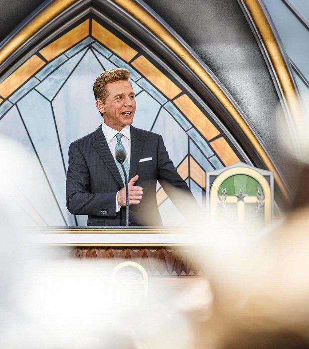 Leader of Scientology David Miscavige