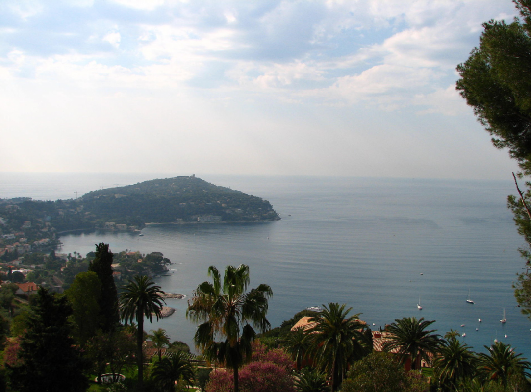 View from Cap Ferrat. Source: Wikipedia