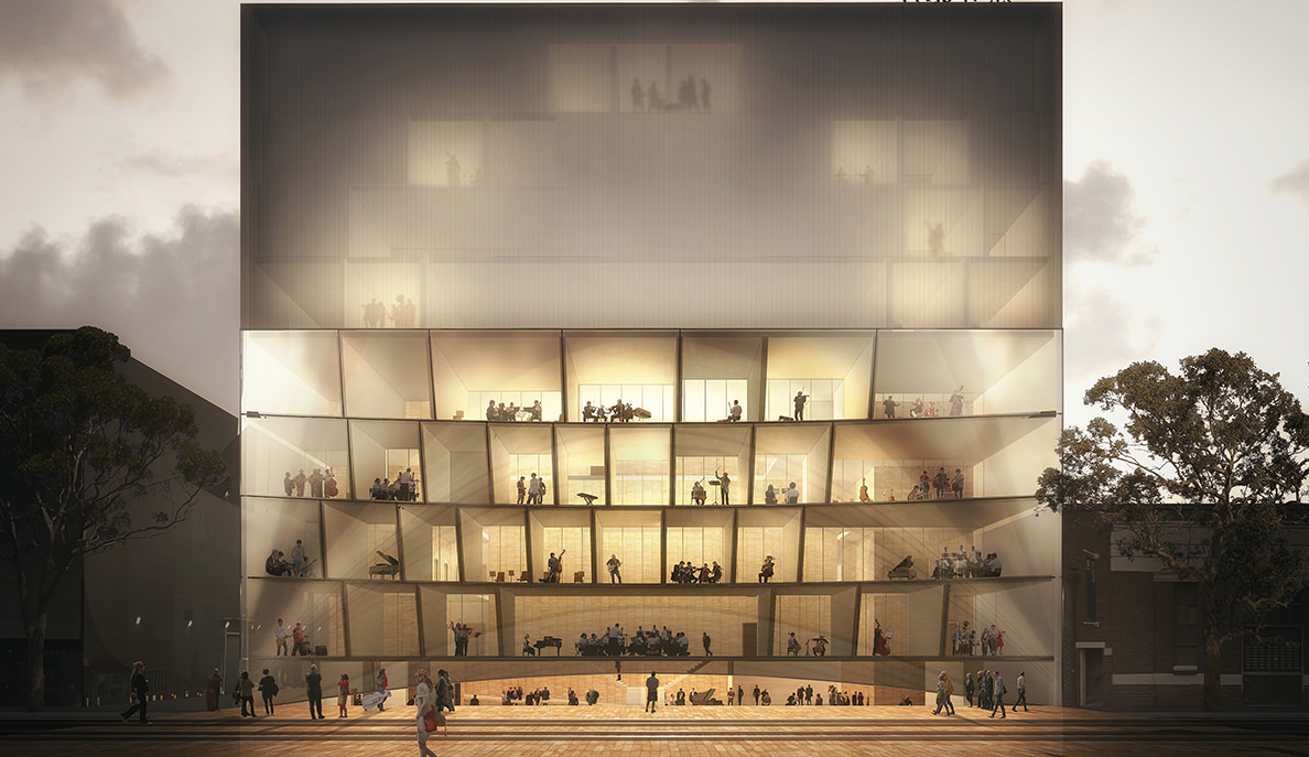 Another of Hassell's concept plans
