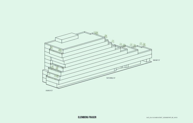 Stepped Building Form - Church Street