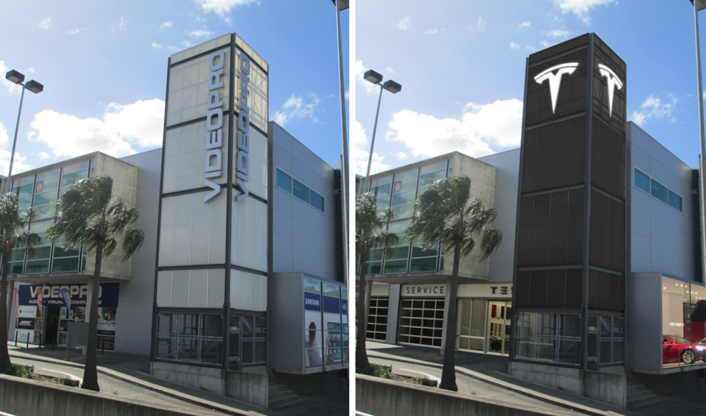 Tesla DA, Showroom, Fortitude Valley