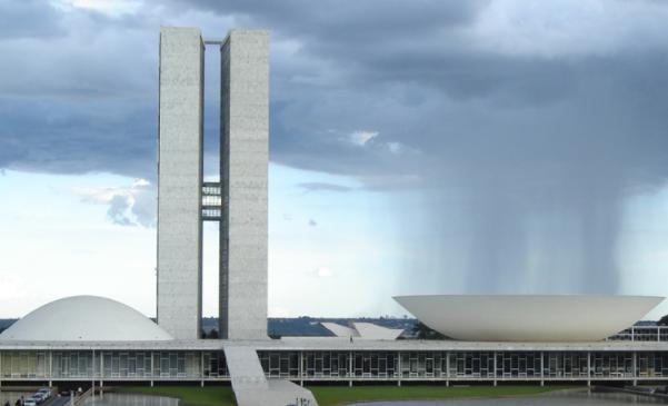 Brazilian National Congress building.