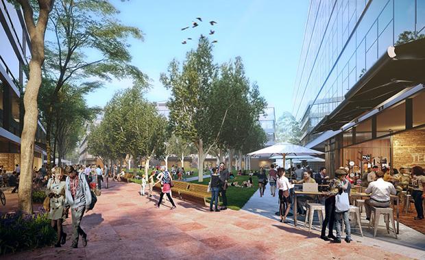 Western Sydney Science Park public park