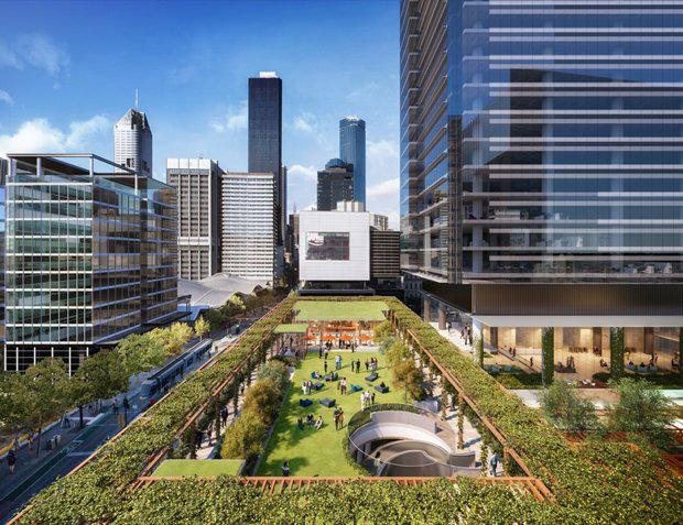 MacroPlan worked closely with Lendlease to help with their vision for Melbourne Quarter, a premier urban renewal project located on Collins Street between the Melbourne CBD and Docklands.