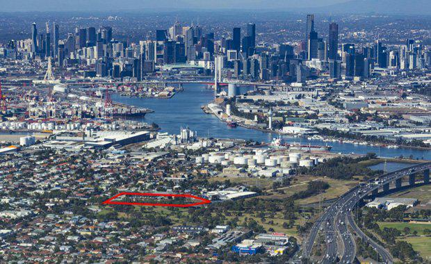 Yarraville-aerial-photo-print-cropped-outlined