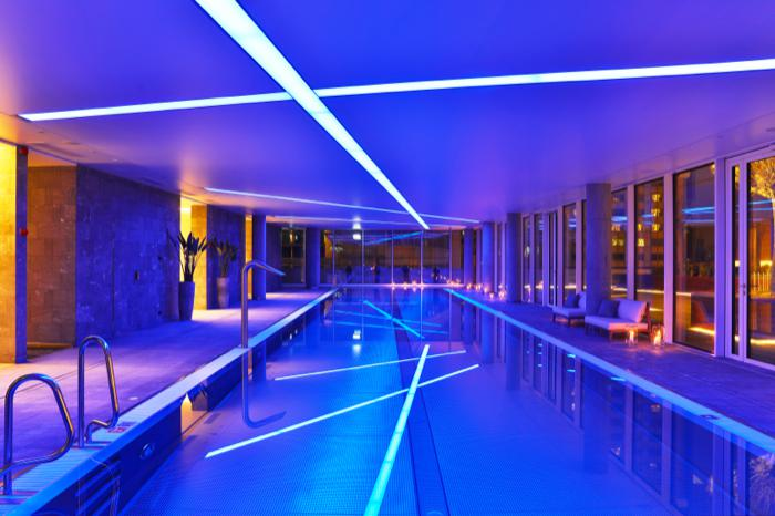Zlota 44, Warsaw, Swimming pool