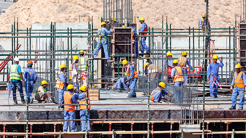 ▲ The construction industry has the lowest productivity gains of any industry, according to consultancy firm McKinsey.