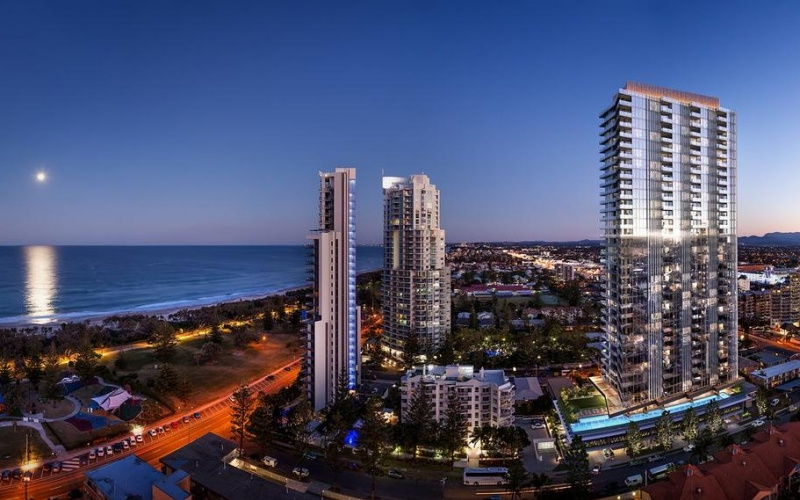 Little Projects' 35-storey Broadbeach project recently launched to market.
