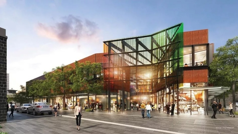 ▲The retail and residential transformation of the historic Pentridge Prison in Coburg, Melbourne.