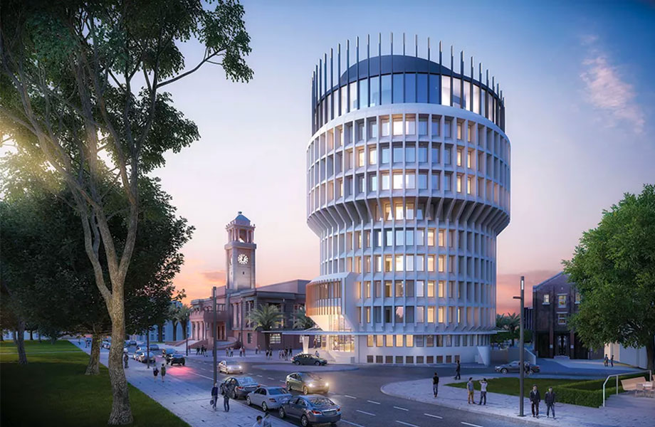Crystalbrook intend to redevelop the non-heritage-listed building and current administrative headquarters into the city's first five-star hotel to be known as the Kingsley.