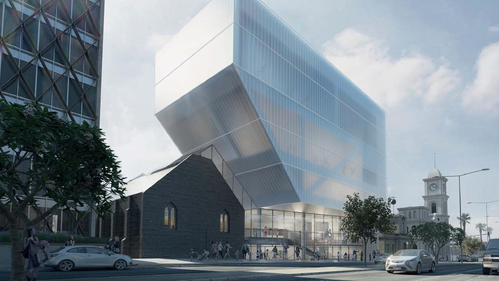 Proposed Geelong Performing Arts Centre