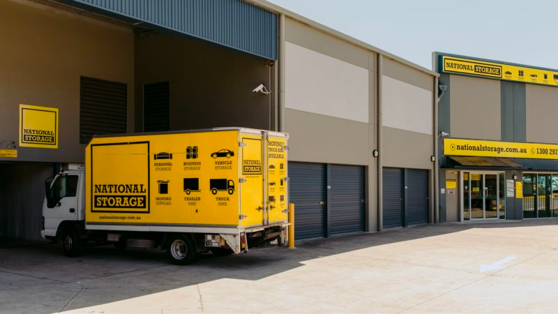 ▲ National Storage is the largest self-storage provider with a near $2 billion empire.