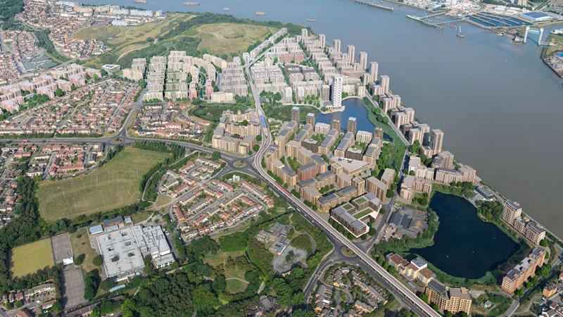 Thamesmead Waterfront London Lendlease