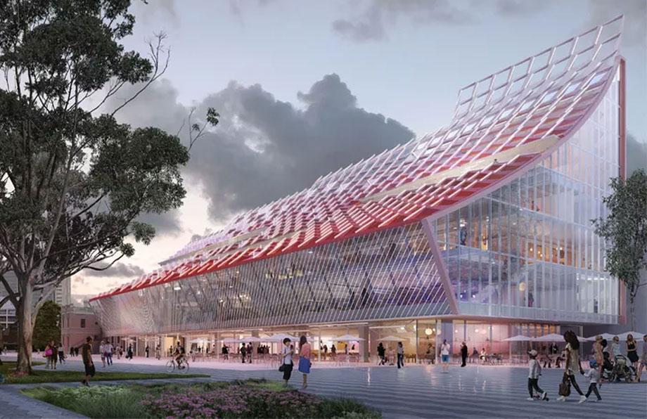 ▲ 5 Parramatta Square render. Image: DesignInc, Lacoste Stevenson, Manuelle Gautrand.