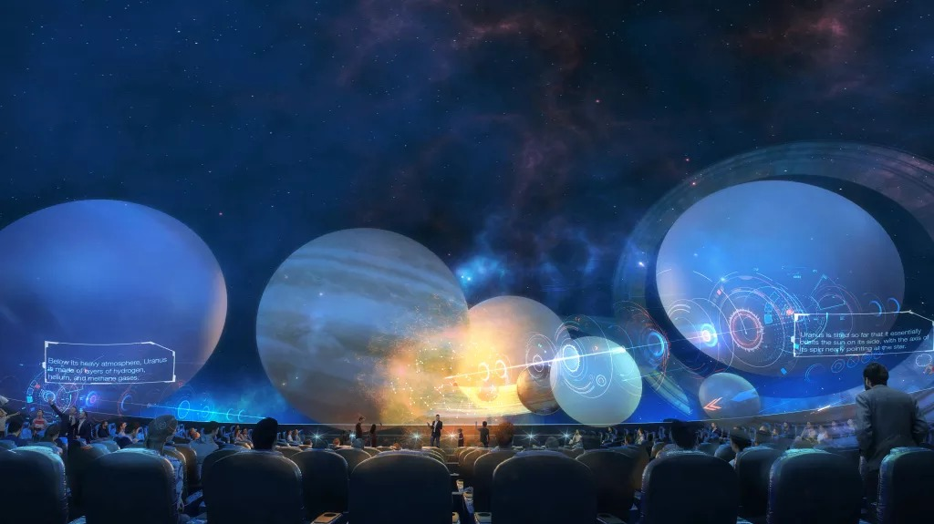 The Powerhouse Museum will reopen in Parramatta in 2023 with Australia's largest planetarium.