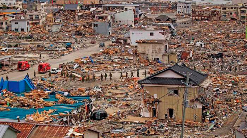 ▲ Economists are looking to the Japan earthquake and tsunami of 2011 to help quantify the potential impact of the coronavirus on Australia's building and construction supply chains.