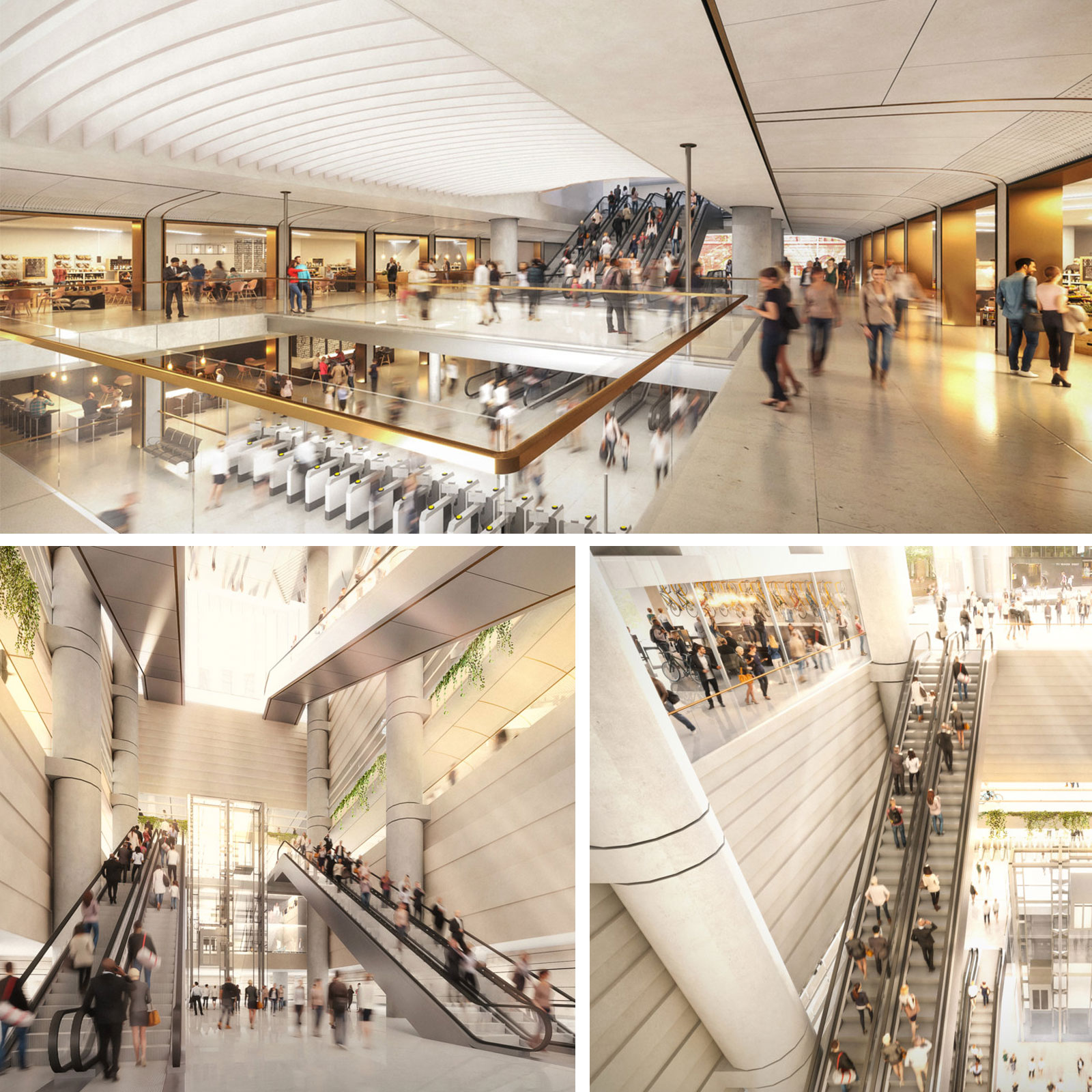 Macquarie Group has appointed Lendlease as its design and construction contractor to deliver the new station, retail space, pedestrian connections and the buildings above the station.