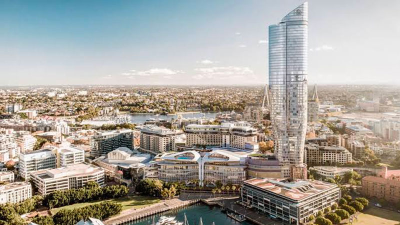 ▲ The NSW Independent Planning Commission controversially rejected the Star casino's plans for a 220-room hotel and luxury apartment tower in Pyrmont.